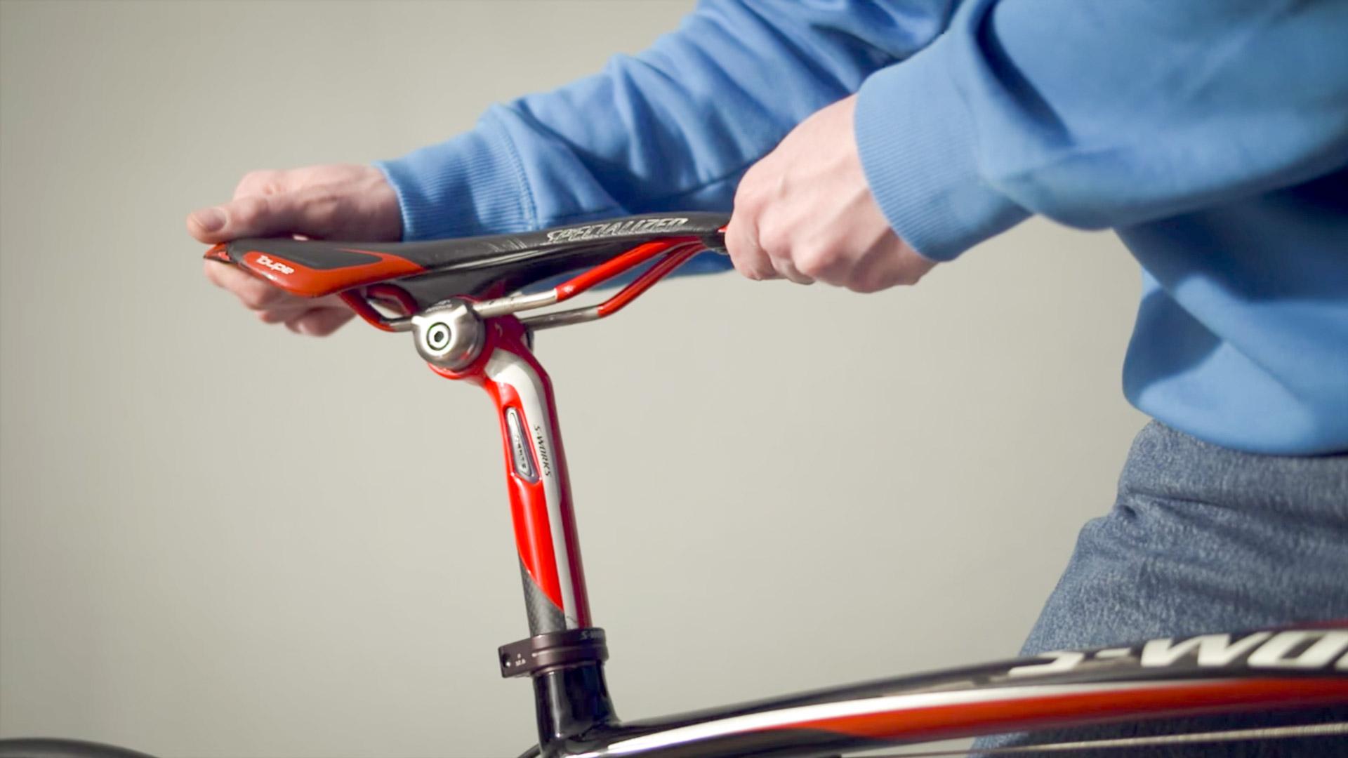 Sattelhöhe beim Rennrad einstellen