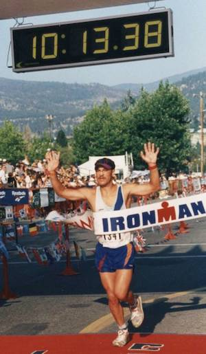 Jörg Knop, 23-maliger Ironman-Finisher